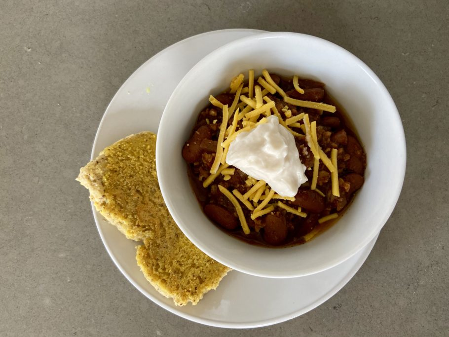 Easy, Healthy, and Yummy: meatless chili